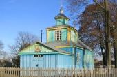 Храм Покрова Пресвятой Богородицы в д. Приболовичи Лельчицкого района