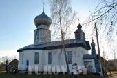 Храм в честь cвятой великомученицы Параскевы Пятницы в деревне Вербовичи. 2010 г
