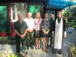 Священник Туровской епархии совершил чин освящения Михалковского лесничества