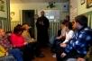 Священник посетил Мозырское отделение дневного пребывания для инвалидов