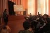 Собрание в школе №12 города Мозыря