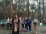 Священнослужитель совершил молебен в палаточном оздоровительном лагере