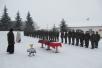 Освящение казарм и техники в воинской части