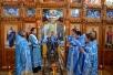 Епископ Леонид совершил Литургию в храме Нерукотворного Образа Господня