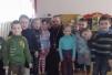 Священник посетил санаторный детский сад «Алеся»