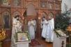 Божественная литургия в храме Вознесения Господня в г. Петриков