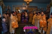 Божественная литургия в храме Успения Пресвятой Богородицы д. Милошевичи