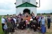 Божественная литургия в храме иконы Божией Матери «Неупиваемая Чаша» д. Углы