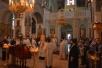 Епископ Леонид совершил Божественную литургию в кафедральном соборе г. Мозыря