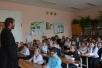 Священник провел встречу с учениками начальных классов Мозырской школы №11