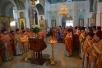 Духовенство Туровской епархии поздравило своего архипастыря с Пасхой Христовой