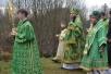 Епископ Леонид принял участие в торжествах в Свято-Елисеевском монастыре