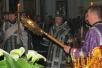 Владыка Леонид совершил утреню в Свято-Михайловском кафедральном соборе