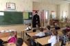 Священник посетил среднюю школу №1 г. п. Октябрьский