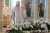 Божественная литургия в Свято-Михайловском кафедральном соборе