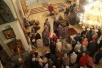 Епископ Леонид совершил Всенощное бдение с выносом Креста