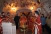 Епископ Леонид совершил Божественную литургию в криптовом храме