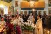 Божественная литургия в храме Покрова Пресвятой Богородицы г.Хойники