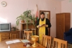 Священник кафедрального собора Архангела Михаила освятил среднюю школу №5