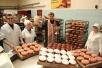 На Калинковичском хлебозаводе совершили ежегодное освящения пасхальных куличей