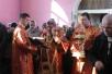 Божественная литургия в храме вмч. Георгия Победоносца в г.Мозыре