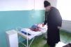 Священник посетил Наровлянскую Центральную больницу