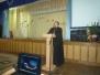 Священнослужитель принял участие в общегимназическом родительском собрании