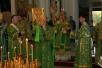 Епископ Леонид совершил Божественную литургию в кафедральном соборе Мозыря