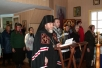 Чтение Великого покаянного канона в храме Введения во храм Пресвятой Богородицы