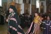Епископ Туровский и Мозырский Леонид совершил вечерню с чином прощения