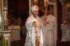 Божественная литургия в приходе Храма Всех Святых города Туров