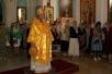 Божественная литургия в кафедральном соборе Архангела Михаила