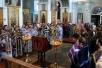 Епископ Туровский и Мозырский Стефан возглавил Литургию Преждеосвященных даров