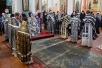 Епископ Туровский и Мозырский Стефан совершил Литургию Преждеосвященных Даров в
