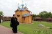 Епископ Туровский и Мозырский Стефан совершил Литургию на Замковой горе в Мозыре