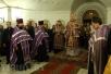 Епископ Туровский и Мозырский Стефан совершил всенощное бдение в Свято-Покровско