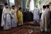 Епископ Туровский и Мозырский Стефан совершил Литургию в Петрикове
