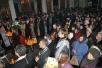 Епископ  Стефан совершил Божественную Литургию и вечерню с Чином Прощения