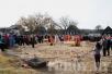 Епископ Туровский и Мозырский Стефан совершил чин основания храма в д. Скородное