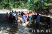 В Юровичах прошел прошел очередной туристический слет для молодых инвалидов