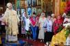 Епископ Туровский и Мозырский Стефан возглавил Божественную Литургию в Турове