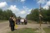 Освящение креста в д. Колки Петриковского района