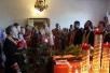 Епископ Туровский и Мозырский Стефан совершил всенощное бдение в Мозыре