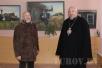 Епископ Туровский и Мозырский Стефан посетил юбилейную выставку известного мозыр